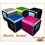 Mini Bocina Con Radio,coge Usb Y Micro
