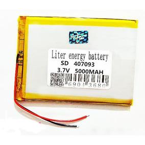 Bateria 407095 Lítio Tablet Multilaser 7 E Outros - 2 Fios