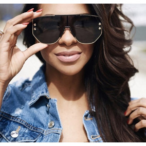 0659553987436 Oculos De Sol Preto Com Dourado Outros Dior - Óculos no Mercado ...