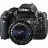 Canon Eos Rebel T6i Cámara Dslr Con Mm Is Stm Kit De Lente