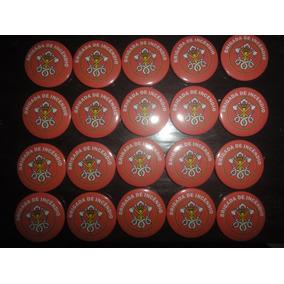 Botons/bottons/broches Brigada De Incêndio 20 Unidades 4,5cm