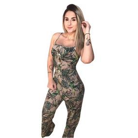 Kit 3 Macacão De Alças Moda Blogueira Verão 2018