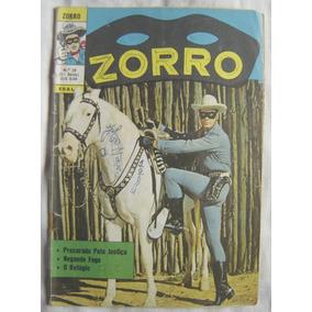 Zorro Nº 20 - Ebal - 3ª Série - Ano 1972.