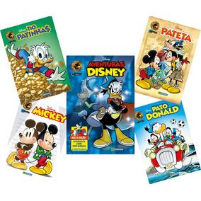 Kit 5 Edições Novas Hqs Gibis Disney 2019 Gibi N Zero