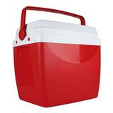 Caixa Térmica 26 Litros 35 Latas Vermelha Mor Full