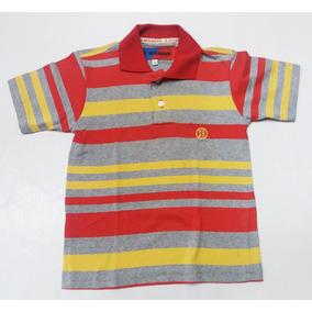 Camisa Polo Infantil Listrada Smith Brothers Malha Menino b8de4c42b3a97