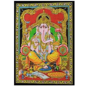Poster Deus Ganesha- Painel Ganesha Indiano- Desatador Nós