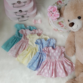Vestido Bebê Kit 5 Pç Princesa Festa Atacado Roupa Infantil