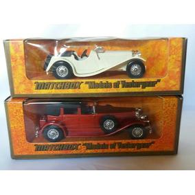 2 Matchbox Models Of Yesteryear 1936jaguar E 1930duesenberg