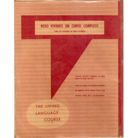 * Idiomas Curso Ruso Español Cd Manual Escaneado Audio