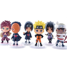 Naruto Kit Miniaturas 6 Bonecos