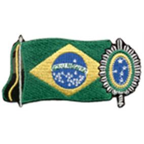 Bordado Termocolante Treme Terra Modelo Marinha Do Brasil por Falcon Sport  · Patch Bandeira Do Brasil Com Brasão Do Exercito b4fe133c572
