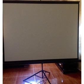 Pantalla Portatil Para Proyector Video Beam