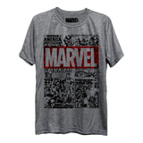 Camiseta Marvel Comics Hq Vingadores Freekz