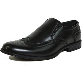 Ala Vestido Zapatos Brogue Medallón Resbalón Basilea Suizo