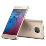 Celular Motorola Moto G5 S Ds Dorado 4g Huella 16mp