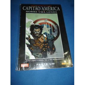 Hq Capitão America Morre Uma Lenda - Parte 1