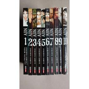 Coleção Ajin - Vols 01 Ao 10
