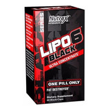 Lipo 6 Black Nutrex Termogênico Ultra Concentrado 60cápsulas