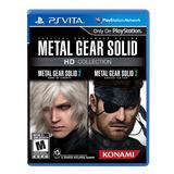 .. Metal Gear Solid Hd Collection .. Para Ps Vita A Meses