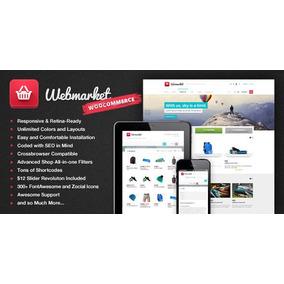 Webmarket Tema Wordpress Loja Virtual