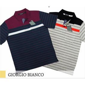 a8d627d4ec Camisa Polo Giorgio Armani - Pólos Manga Curta Masculinas no Mercado ...