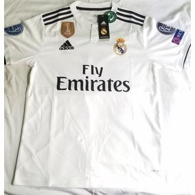 Real Madrid Camisa Franela Camisa Edicion Champions League c58123863fa1e
