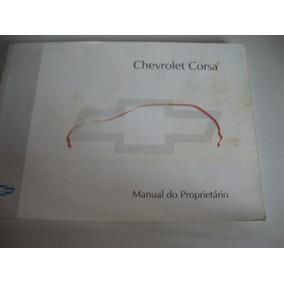 Corsa Catálogo Manual Proprietário Carro Ano 1997 *
