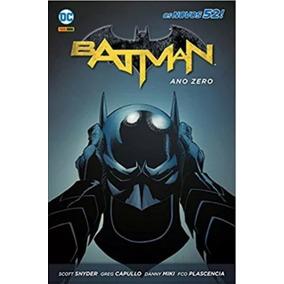Batman Ano Zero Capa Dura Panini Lacrado