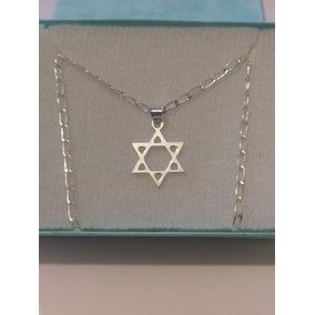 5618bca7fa42 Collar De Estrella De David 1.7 Cm De Plata 925 Envio Gratis