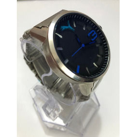 Reloj Puma Ultrasize Black, Plata Extensible Acero Inox