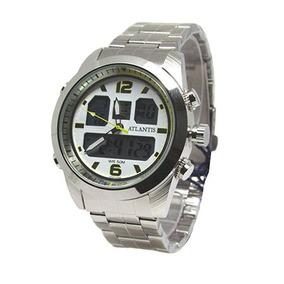 f3a5faaca1f Relogio Atlantis Prata - Relógio Atlantis Masculino em Paraná no ...