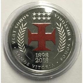 Medalha / Moeda 120 Anos Do Vasco Da Gama (1898 - 2018)