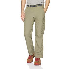 Pantalón Columbia Para Hombre 40x32 Explorer Verde Salvia