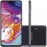 Celular Samsung Galaxy A70 128gb 32mp Tela 6.7 Preto