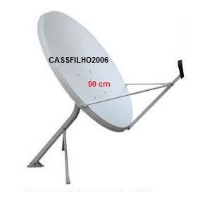 Lote De 10 Antenas De 90 - Novas(sem Lnbs E Sem Cabos)