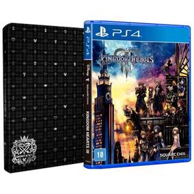 Kingdom Hearts 3 Ps4 Steelbook Edition Mídia Física