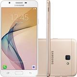 Smartphone Samsung Galaxy J7 Prime - Dourado 32gb - Vitrine