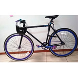 Bicicleta Fixie, Aro 28 O Talla S + Casco Y Cadena
