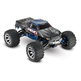 Trax5309 - Revo 3.3 4wd Nitro Monster Ré 2.4ghz Azul/braco