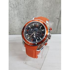 Reloj Omega Seamaster Co-axial Naranja Caucho