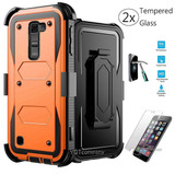 Orange With Clip - For Lg K8 - Para Lg K8 /phoenix 2 K3-6194