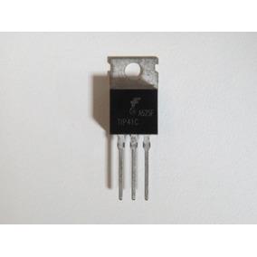 Transistor Tip41c - Original - Kit Com 8 Peças