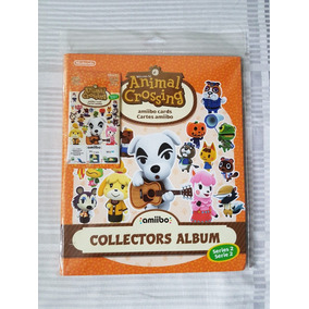 Álbum Animal Crossing Amiibo Cards - Série 2 - Lacrado
