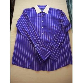 Camisa Marca Sean John Talla L Seminueva