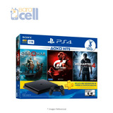 Play Station 4 Sony Hits3 Bundle 1tb + 3 Juegos Físicos