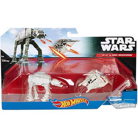 Kit 5 Naves Star Wars Raras Hot Wheels Mattel
