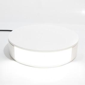 Base Giratória Com Iluminação - Faça Vídeos Em 360 Graus