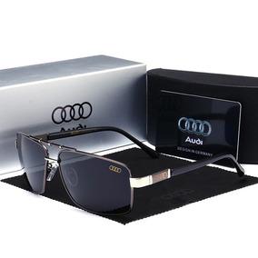 fab80bd7a8ba6 Óculos De Sol Audi Cromado Polarizado E Com Proteção Uv400. R  249 99