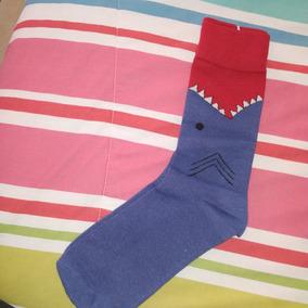 Calcetines Chistosos De Tiburon